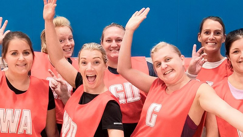 Join Netball Fun League